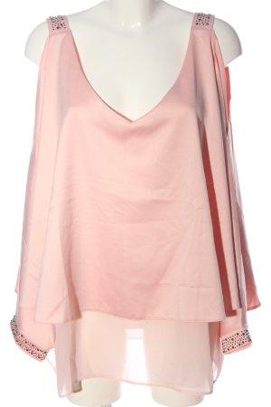 Ashley Brooke ärmellose Bluse pink Elegant