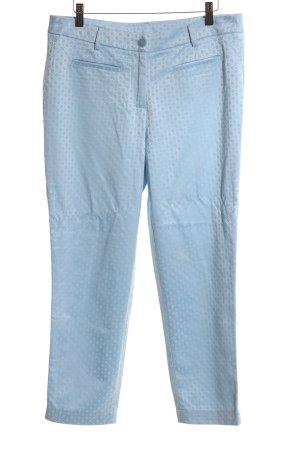 Ashley Brooke Pantalon de costume bleu imprimé allover style décontracté