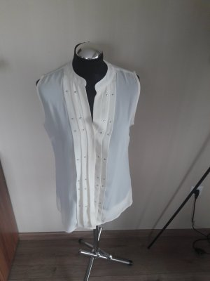 Ashley Brooke Sleeveless Blouse white