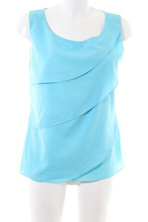 Ashley Brooke Blusentop blau Elegant