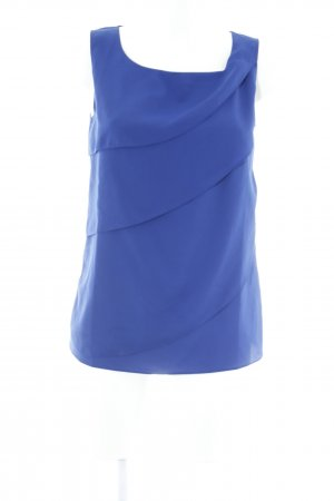 Ashley Brooke Blusentop blau schlichter Stil