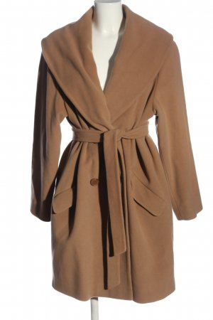 Ashley Brooke Floor-Lenght Coat brown casual look