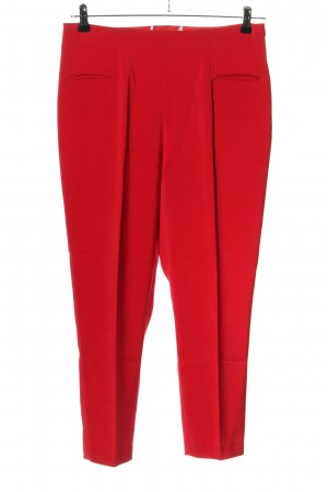 Ashley Brooke Pleated Trousers red business style
