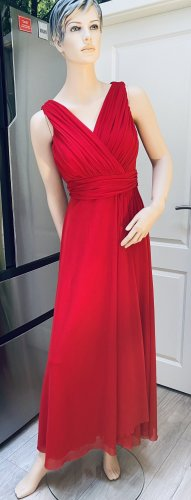 Ashley Brooke Avondjurk rood Polyester