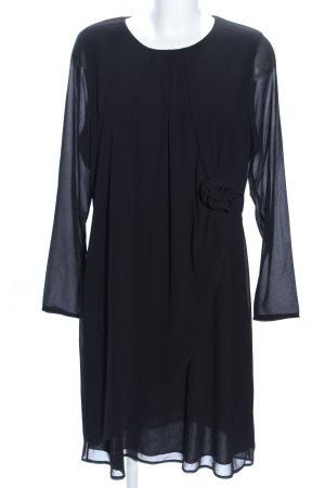 Ashley Brooke Chiffonkleid schwarz Elegant