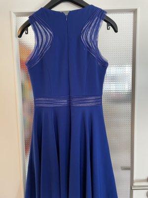 Ashley Brooke Cocktail Dress blue polyester