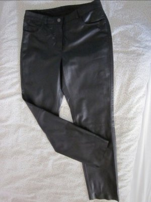 Ashley Brooke Leather Trousers black