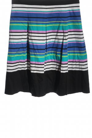 Ashley Brooke Flared Skirt striped pattern casual look