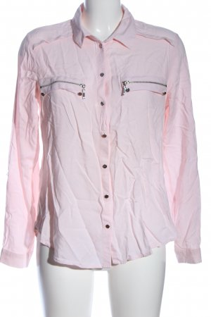 Ashley Brooke Blouse-chemisier rose style décontracté