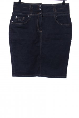 Ashley Brooke Denim Skirt blue casual look