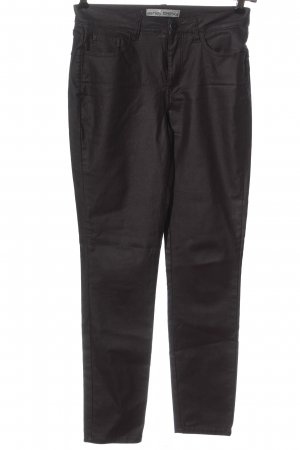 Ashley Brooke Faux Leather Trousers black casual look
