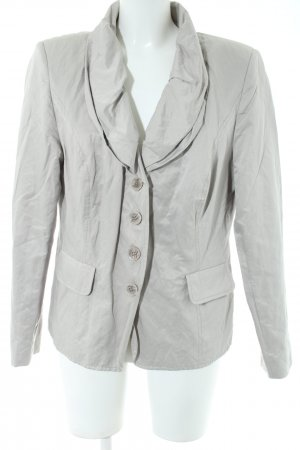 Ashley Brooke Kurz-Blazer hellgrau Casual-Look