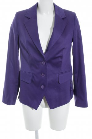 Ashley Brooke Kurz-Blazer blauviolett Business-Look