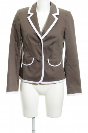 Ashley Brooke Kurz-Blazer hellbraun Elegant