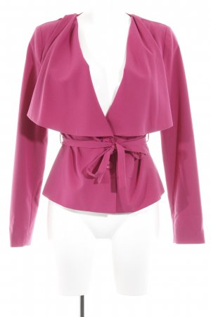 Ashley Brooke Kurz-Blazer violett extravaganter Stil