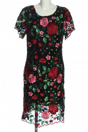 Ashley Brooke Shortsleeve Dress allover print casual look
