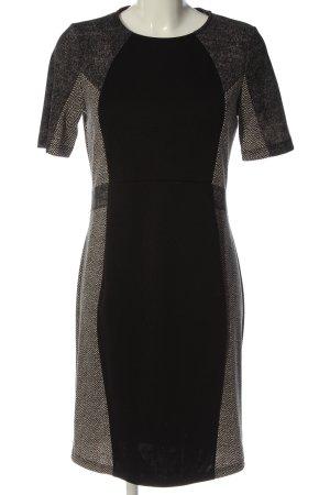 Ashley Brooke Shortsleeve Dress black-white flecked business style