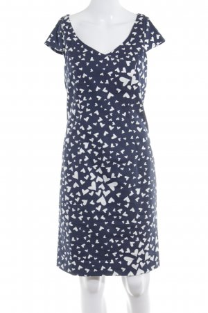 Ashley Brooke Kurzarmkleid dunkelblau-weiß Casual-Look