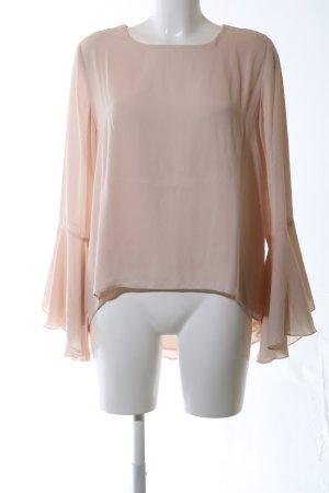 Ashley Brooke Langarm-Bluse nude Business-Look