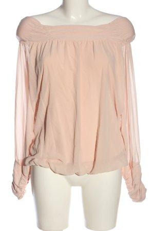 Ashley Brooke Langarm-Bluse pink Casual-Look