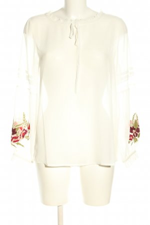 Ashley Brooke Long Sleeve Blouse white casual look