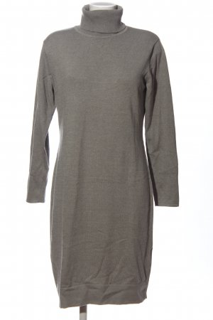 Ashley Brooke Longsleeve Dress brown flecked business style
