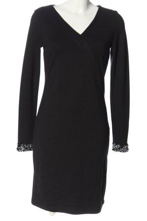 Ashley Brooke Longsleeve Dress black casual look