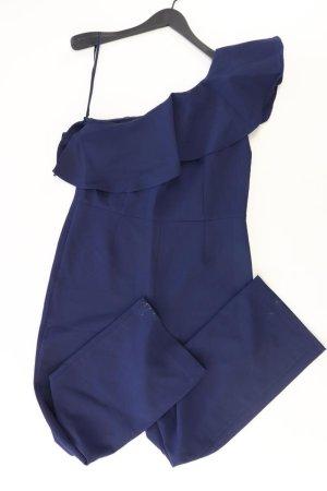 Ashley Brooke Langer Jumpsuit blauw-neon blauw-donkerblauw-azuur