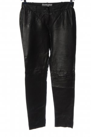 Ashley Brooke Leather Trousers black casual look