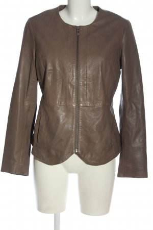 Ashley Brooke Lederjacke braun Casual-Look