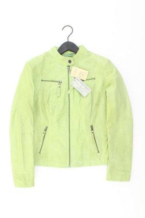 Ashley Brooke Leren jack groen-neon groen-munt-weidegroen-grasgroen-bos Groen