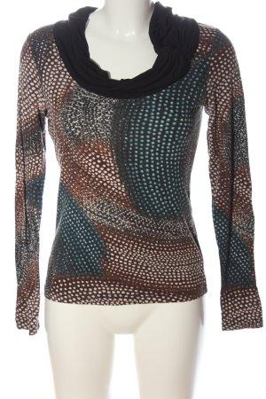 Ashley Brooke Longsleeve abstract pattern casual look