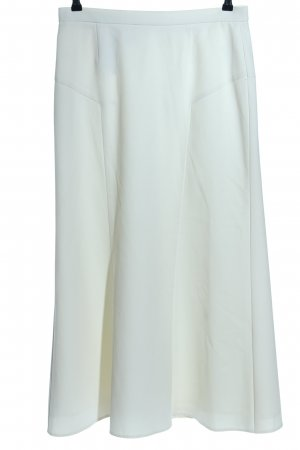 Ashley Brooke Falda larga blanco look casual