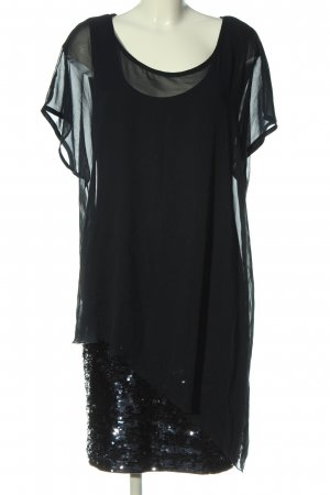 Ashley Brooke Sequin Dress black glittery