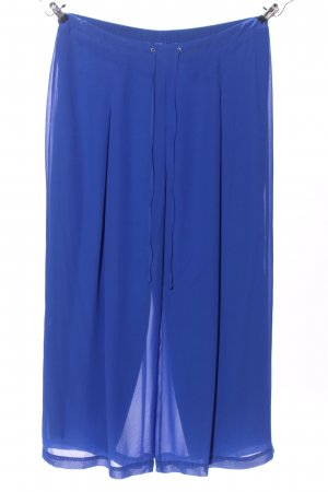 Ashley Brooke Palazzo Pants blue casual look