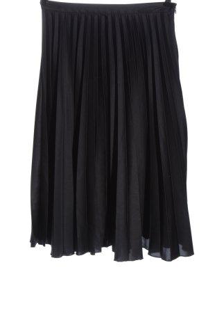 Ashley Brooke Pleated Skirt black casual look