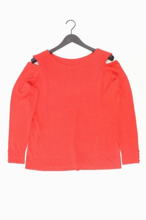 Ashley Brooke Pullover Größe 44 rot aus Viskose