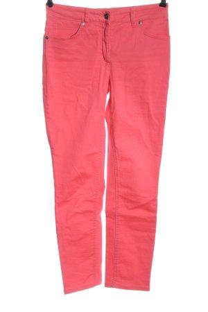 Ashley Brooke Pantalon cigarette rose style décontracté