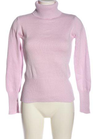 Ashley Brooke Rollkragenpullover pink Casual-Look