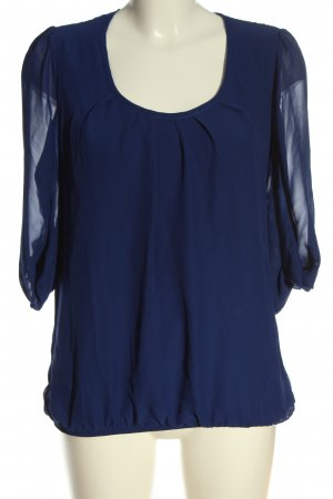 Ashley Brooke Slip-over Blouse blue casual look