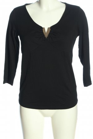 Ashley Brooke Longsleeve black casual look