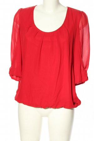 Ashley Brooke Slip-over Blouse red business style