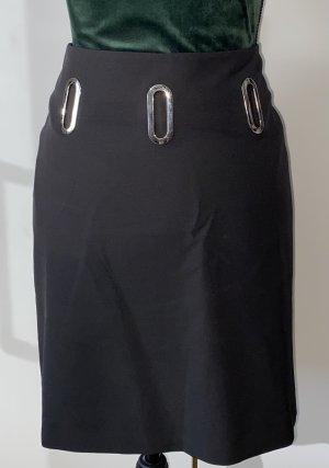 Ashley Brooke Mini rok zwart Gemengd weefsel
