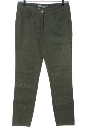 Ashley Brooke Slim Jeans khaki Casual-Look