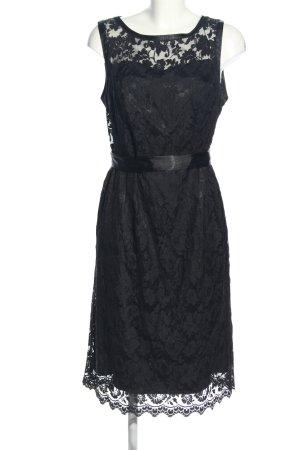 Ashley Brooke Lace Dress black casual look