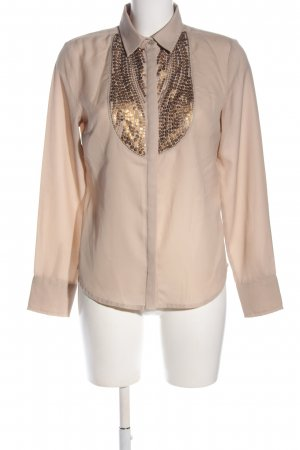 Ashley Brooke Stehkragenbluse creme Casual-Look