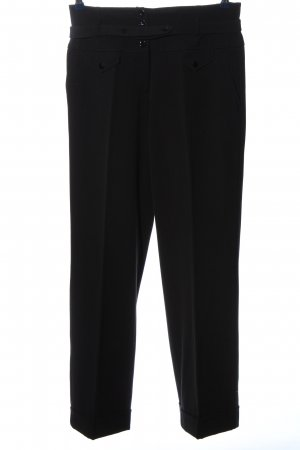 Ashley Brooke Pantalon en jersey noir style d'affaires