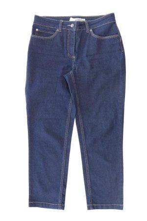 Ashley Brooke Straight Leg Jeans blue-neon blue-dark blue-azure cotton