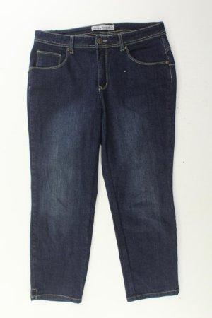 Ashley Brooke Jeans met rechte pijpen blauw-neon blauw-donkerblauw-azuur Katoen