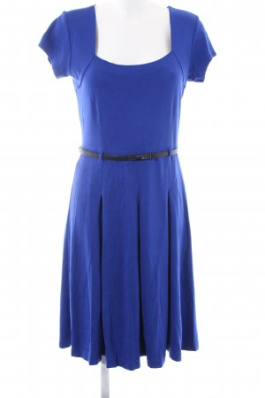 Ashley Brooke Stretch Dress blue elegant